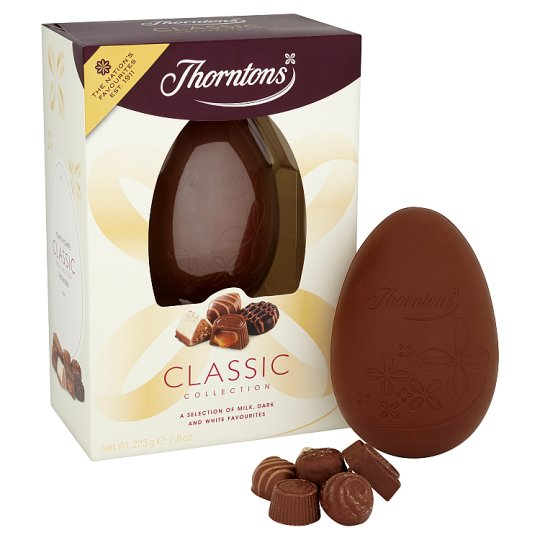 image 1 of Thorntons Milk Chocolate Classics Collection Easter Egg 205G