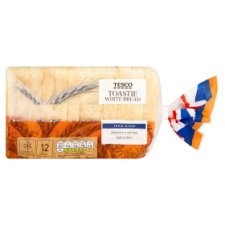 Tesco Small Toastie Bread 400G