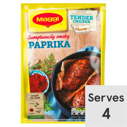 Maggi So Tender Paprika Chicken 23G