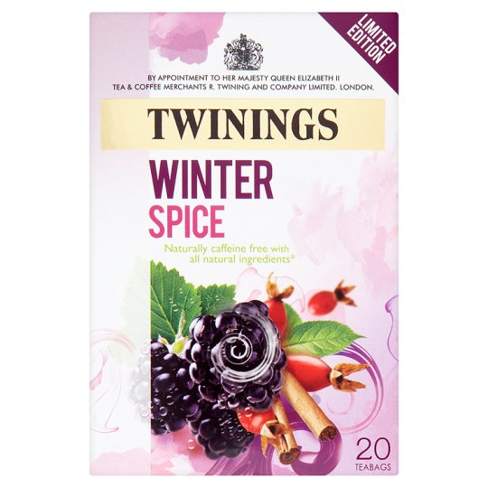 Twinings Limited Edition Winter Spice Teabags 20'S 40G