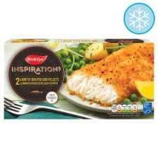 Birds Eye 2 Cod With Lemon And Pepper 310G