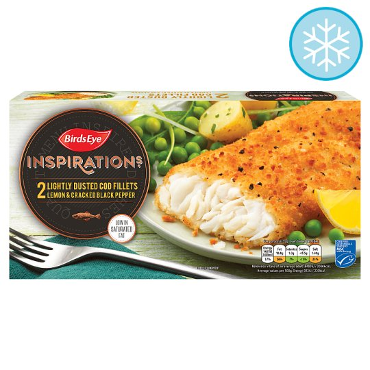 image 1 of Birds Eye 2 Cod With Lemon And Pepper 310G