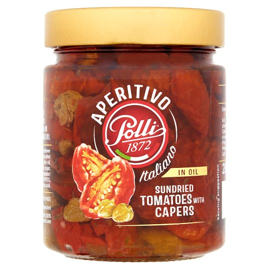 Poll Sun Dried Tomato With Capers 285G