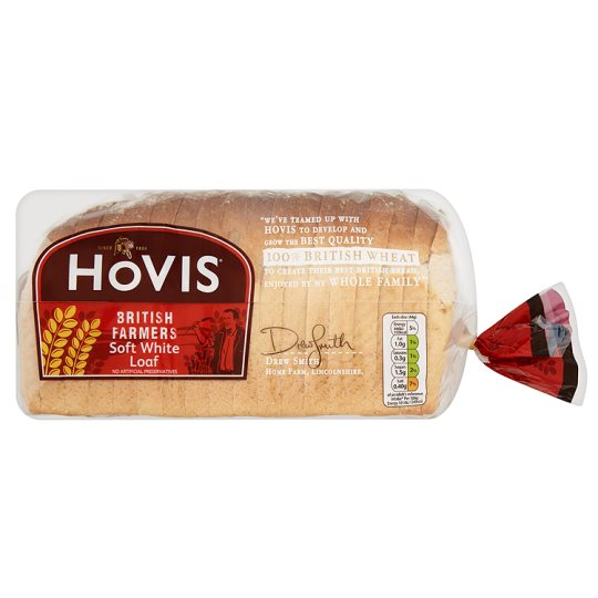 Hovis White Farmers Loaf Bread 800G
