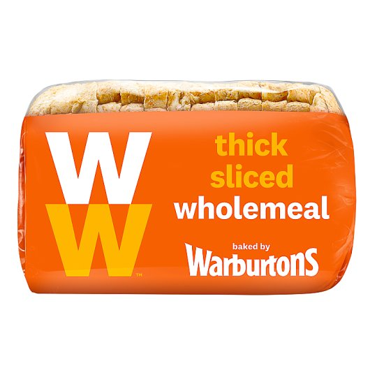 Weight Watchers Small Wholemeal Thick 400G