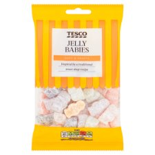 Tesco Jelly Babies Sweets 250G