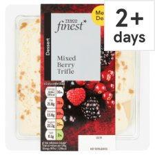 Tesco Finest Mixed Berry Trifle 265 G