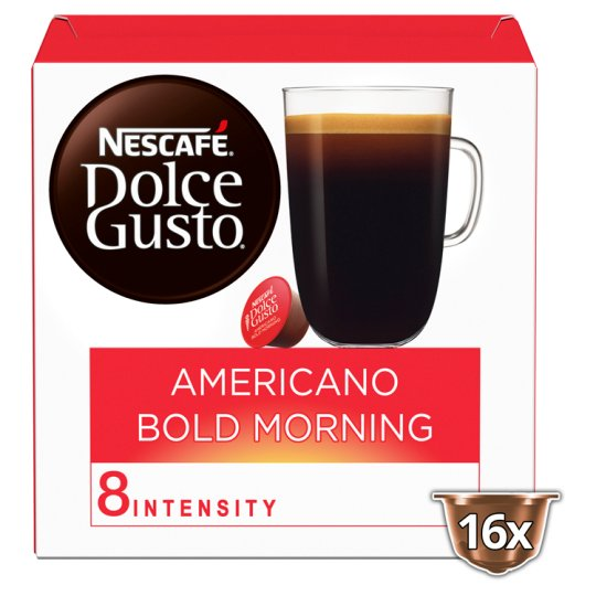 image 1 of Nescafe Dolce Gusto Preludio Intenso Coffee Pods 16 Capsules