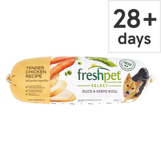 Freshpet Chicken Vegetable Brown Rice Fresh Dog Food 680G