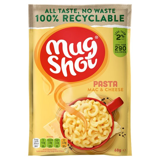 Mug Shot Macaroni And Cheese Pasta 68G
