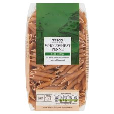 Tesco Whole Wheat Penne Pasta 500G