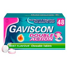 Gaviscon Double Action Mint 48 Tablets