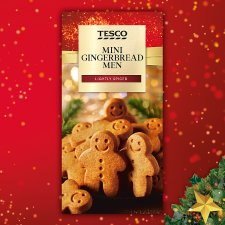 Tesco Mini Gingerbread Men 100G