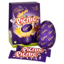 Cadbury Picnic Chocolate Egg 274G