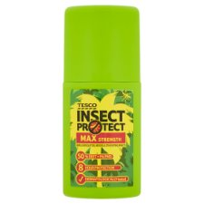 Tesco Max Strength Insect Repellent Pump Spray 100 Ml