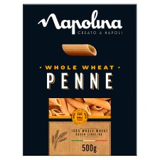 Napolina Whole Wheat Penne 500G
