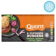 Quorn 2 Ultimate Burgers 227G