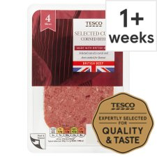 Tesco British Corned Beef 125G