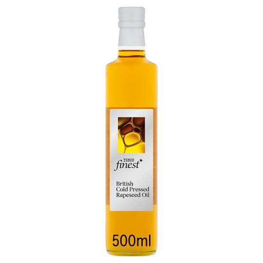 Tesco Finest Cold Press Rapeseed Oil 500Ml