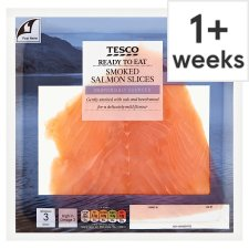 Tesco Smoked Salmon Slices 100G