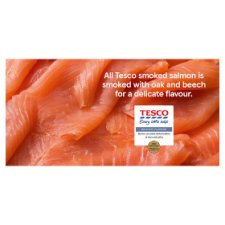 image 2 of Tesco Smoked Salmon Slices 100G