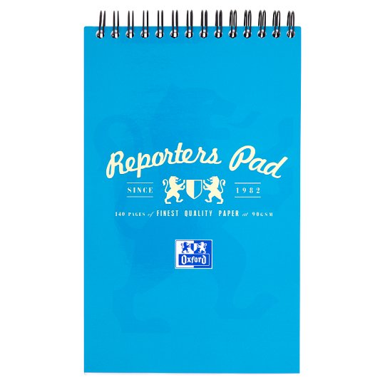 Oxford Campus Reporters Notebook Assorted