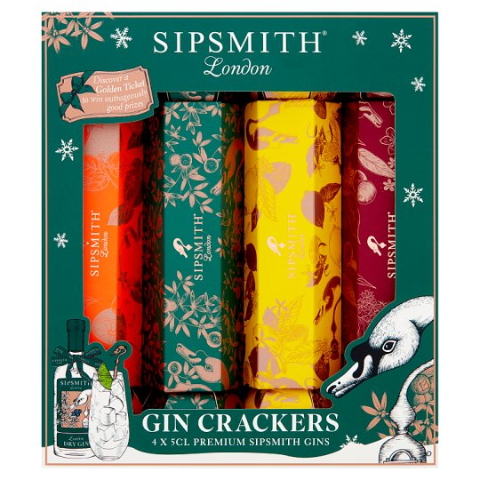 Sipsmith 4 Gin Crackers