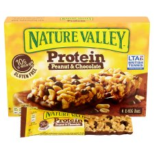 image 2 of Nature Valley Protein Peanut And Chocolate Bars 4X40g