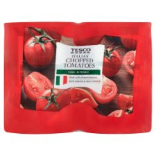 Tesco Italian Chopped Tomatoes 4 X 400G
