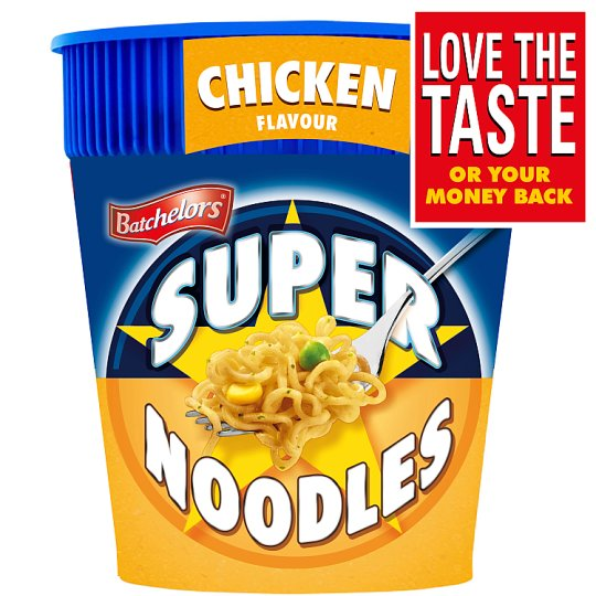 Batchelors Super Noodle Pots Chicken 75G