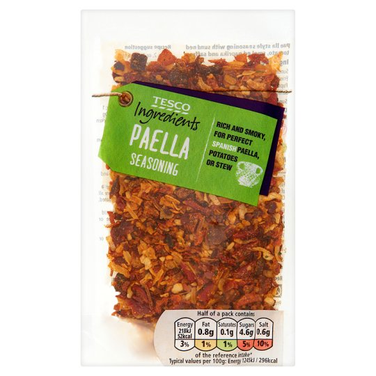 Tesco Ingredients Paella Seasoning 35G