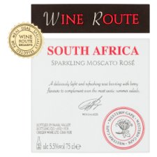 image 2 of Wine Route Rose Moscato 75Cl