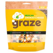 Graze Smoked Mexican Style Nuts 94G