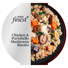 Tesco Finest Chicken And Mushroom Risotto 400G