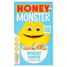 Honey Monster Wheat Puffs Cereal 520G
