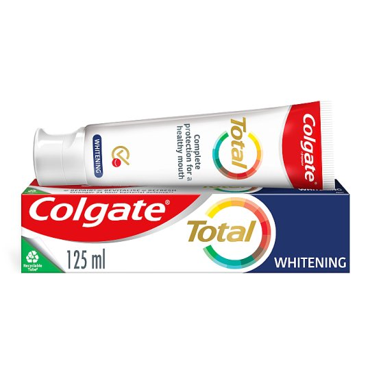 image 1 of Colgate Total Whitening Toothpaste 125Ml