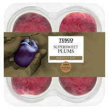Tesco Supersweet Plums 325G