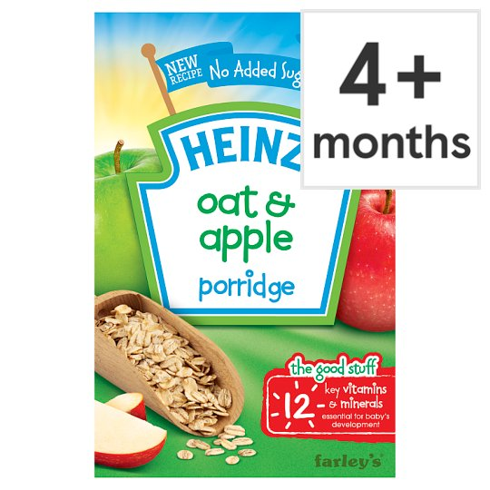 Heinz 4 Month Breakfast Oats And Apple Cereal 125G