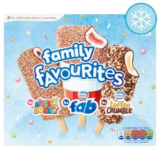 Nestle Fab Family Favourite Mixed 12 Lollies 752Ml