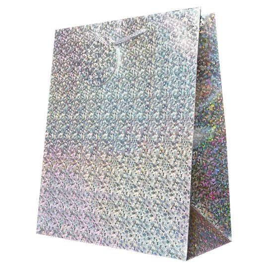Gift bags boxes tesco groceries tesco holographic large bag negle Gallery