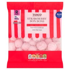 Tesco Sweet Shop Strawberry Bon Bons 200G