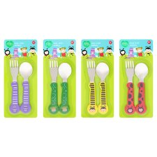 Tesco Loves Toddler Easy Hold Cutlery Set
