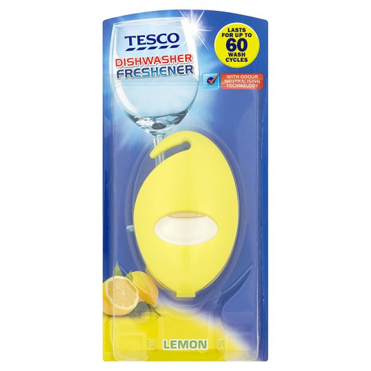 Tesco Dishwasher Freshener Lemon