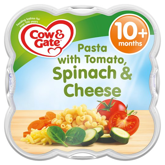Cow & Gate Pasta With Tomato Spinach And Cheese 230G 10 Mth+