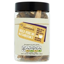 Tesco Ingredient Dried Porcini Mushrooms 40G