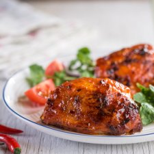 Tesco Bbq Sweet Chilli Chicken Thighs 900G