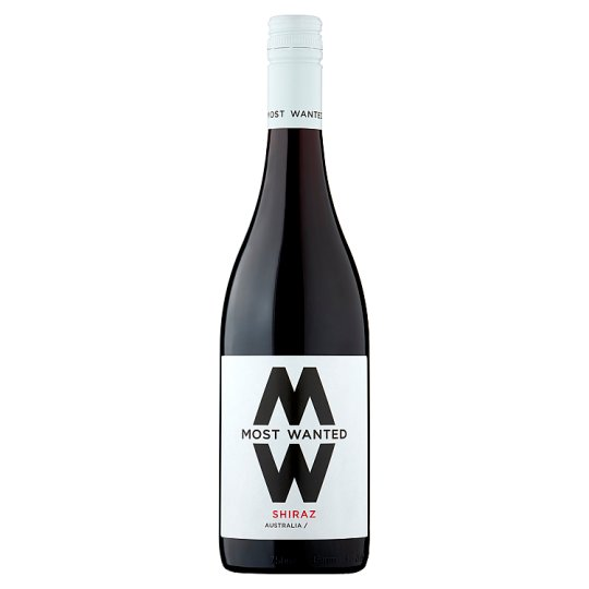 Most Wanted Shiraz 75Cl