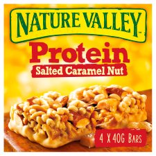 image 1 of Nature Valley Protein Salted Caramel Nut Bars 4X40g
