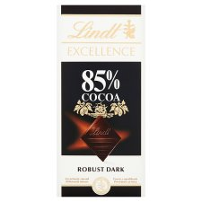 Lindt Excellence 85% Cocoa Dark Chocolate Bar 100G