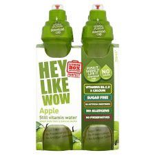 Hey Like Wow Vitamin Water Apple 4 X 250Ml